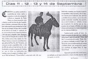 Saludo y presentación de 1954